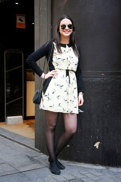 dress with tights
