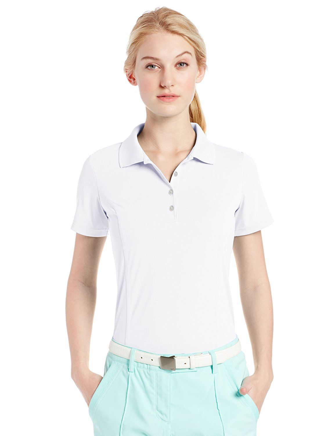 13f6bc65e3da2 adidas Golf Women s Puremotion Solid Jersey Polo Shirt   This is an Amazon  Affiliate link. Read more at the image link.