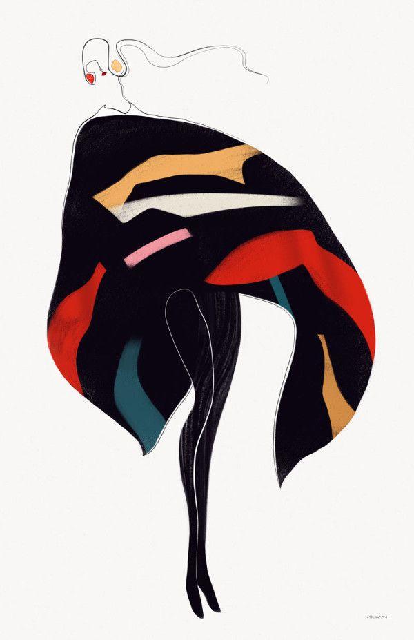 Fashion Illustration I Velwyn Yossy