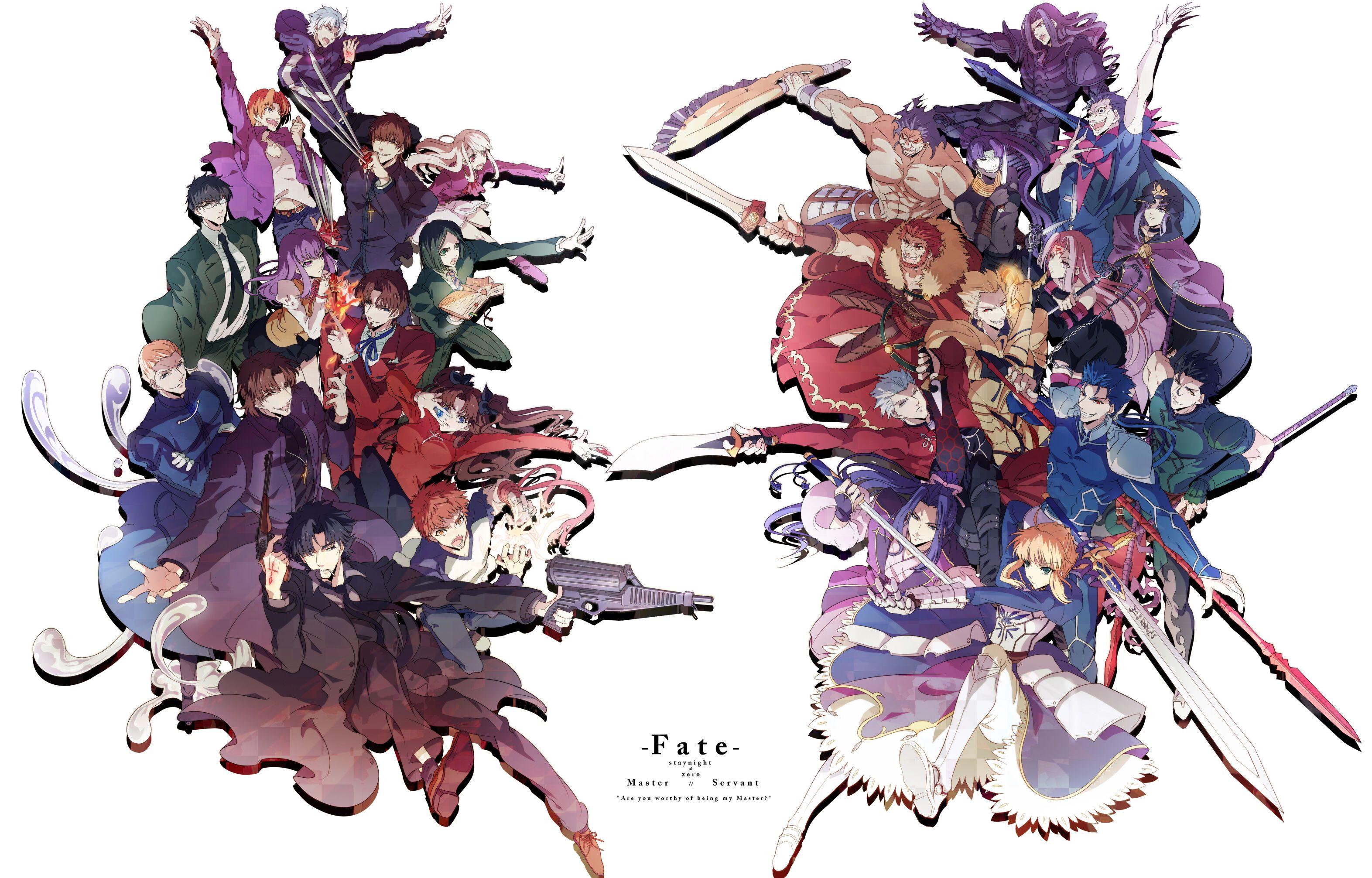 Master And Servant #Fate/Zero#Fate/StayNight