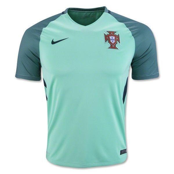 a4d1bca4d Nike Portugal 2016 Away Jersey (Mint Green)