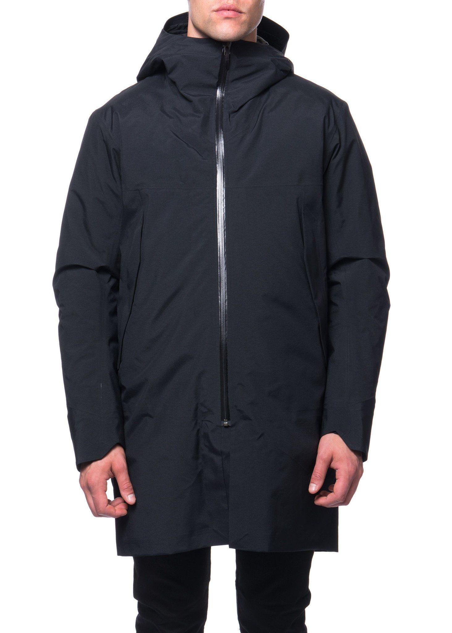 Arc'teryx Veilance FW16 Menswear Black long Monitor