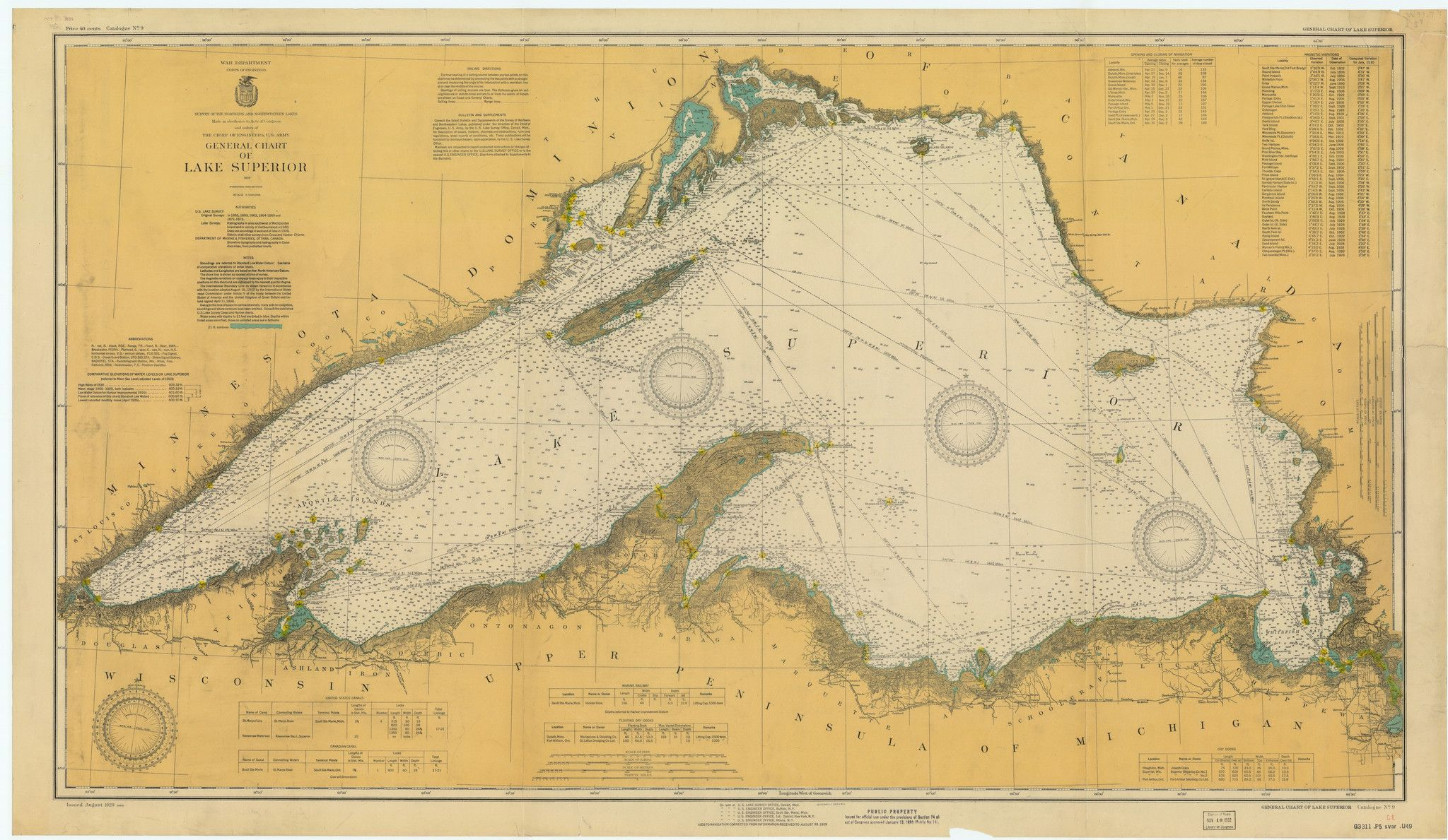 Lake superior historical map 1929 t michiganup pinterest a beautiful high quality print of the historical map of lake superior from 1929 this map is professionally printed on top of the line digital equipment freerunsca Choice Image