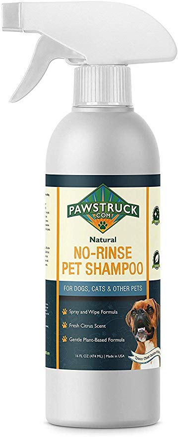 Amazon Com No Rinse Dry Dog Shampoo For Dogs Puppies Other Pets 16 Fl Oz Natural Made In Usa Waterless Rinseless D Dry Dog Shampoo Pet Shampoo Pet Spray