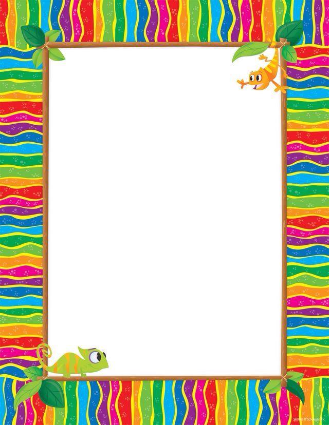 ღ NOTEღ* Pedagogía SG Pinterest Note paper, Border