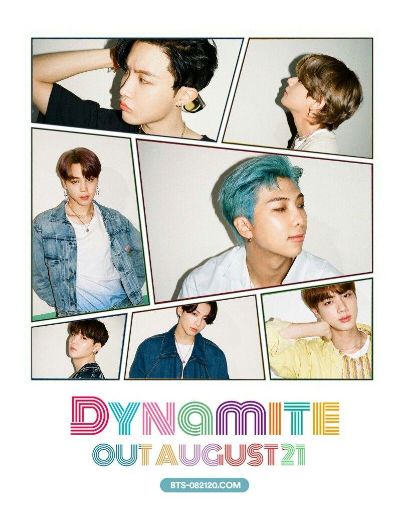 Bts Dynamite August21 Bts Bangtan Dynamite 방탄소년단 Album Bts Bts Bts Bangtan Boy