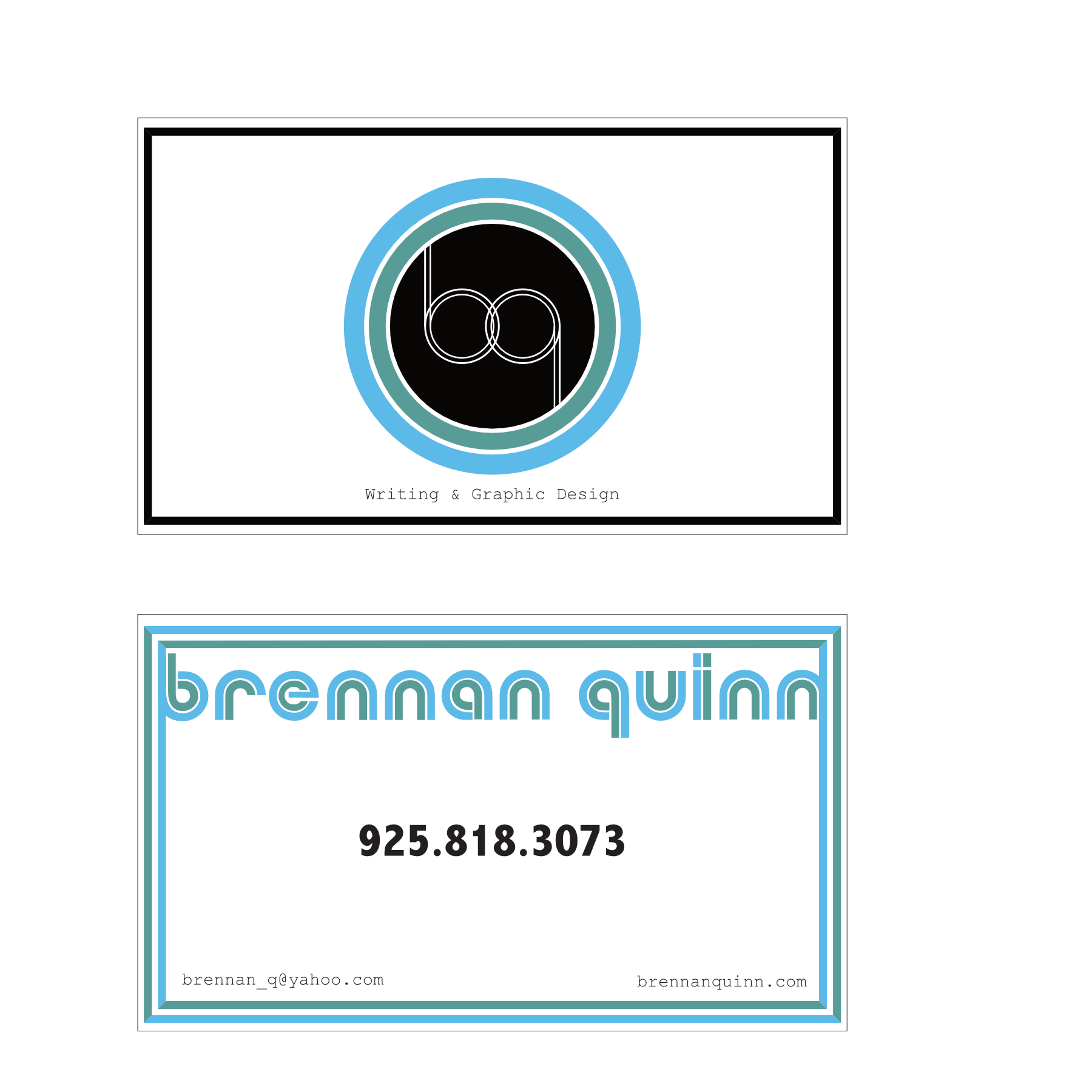 Check out this fun and funky design on this business card and logo check out this fun and funky design on this business card and logo by brennan quinn colourmoves