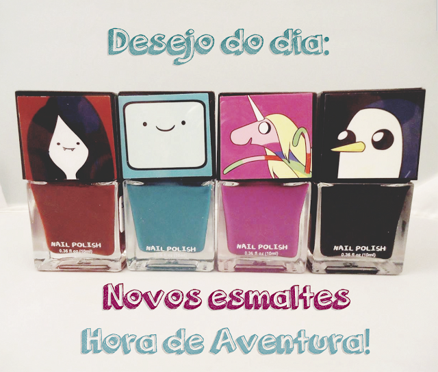 adventure time nail polish