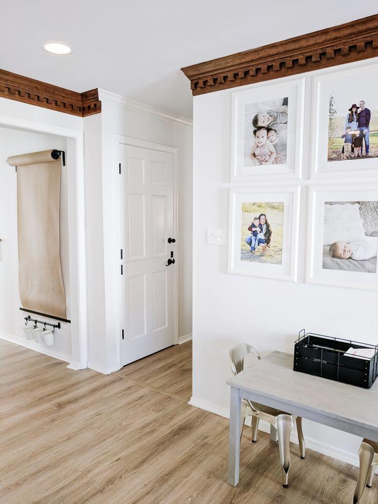 Diy wall mounted easel diy wall diy home decor projects