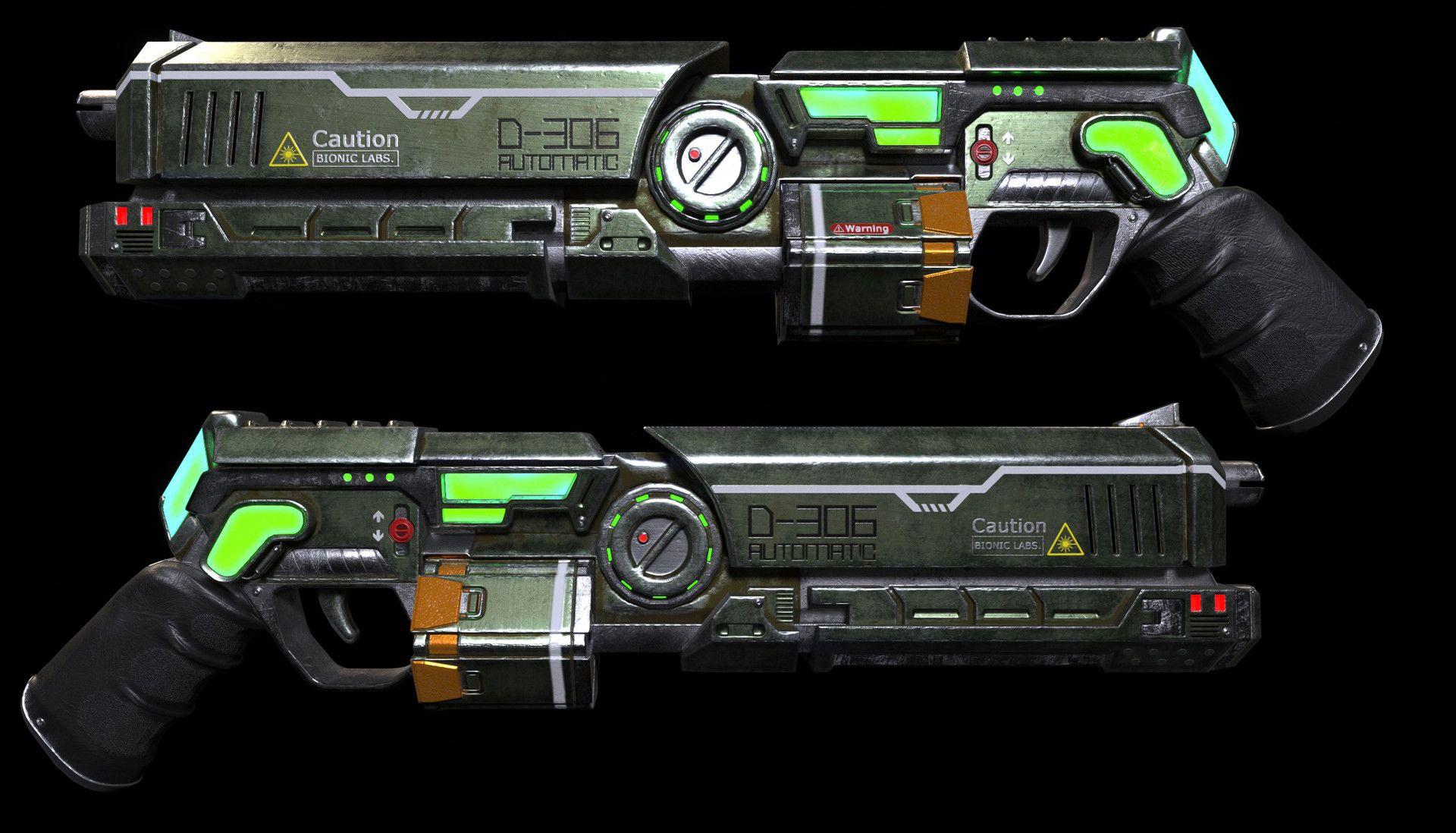 18++ Laser shotgun info