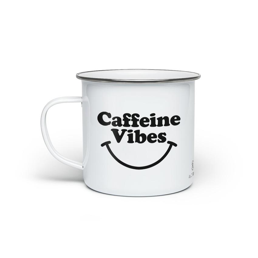 As Of Latte - Caffeine Vibes - Enamel Mug
