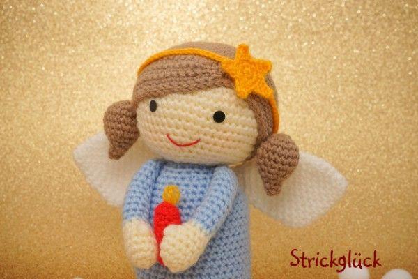häkelanleitung engel | Süße Engelchen sind perfekte ...