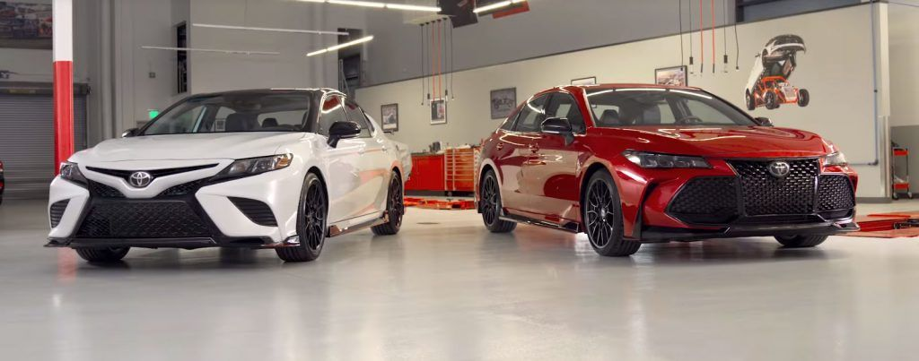 Toyota Shows Avalon And Camry Trd Ahead Of La Auto Show