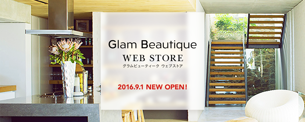 Glam Beautique WEB STOREオープン!