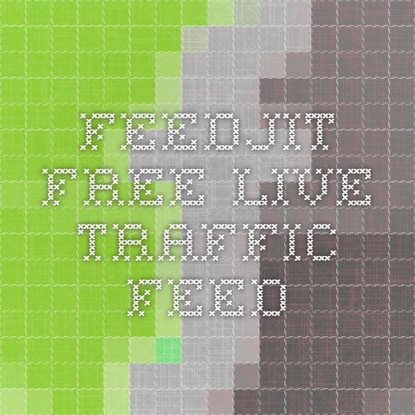 Monitor the traffic to your blog. See who is visiting and from where. Feedjit Free Live Traffic Feed