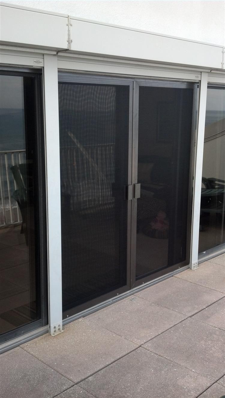 Century Sliding Screen Doors In Double French Configuration Door