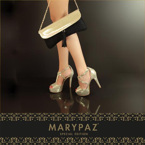 Compartimos con vosotras dos de nuestros productos exclusivos cuidados al detalle, con materiales y acabados únicos diseñados y fabricados en España.  Elegancia y glamour, protagonistas de la primera edición especial de MARYPAZ. #specialedition #edicionespecial #SS15 #summertimeMARYPAZ #crazyforshoes #areyouready? #areyoucrazy? #trendy #moda #tendencia #itssummer #summerON #feelgood #feelMARYPAZ