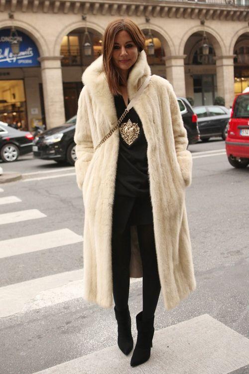 Christine Centenera // Vintage, Givenchy, Balenciaga, Saint Laurent