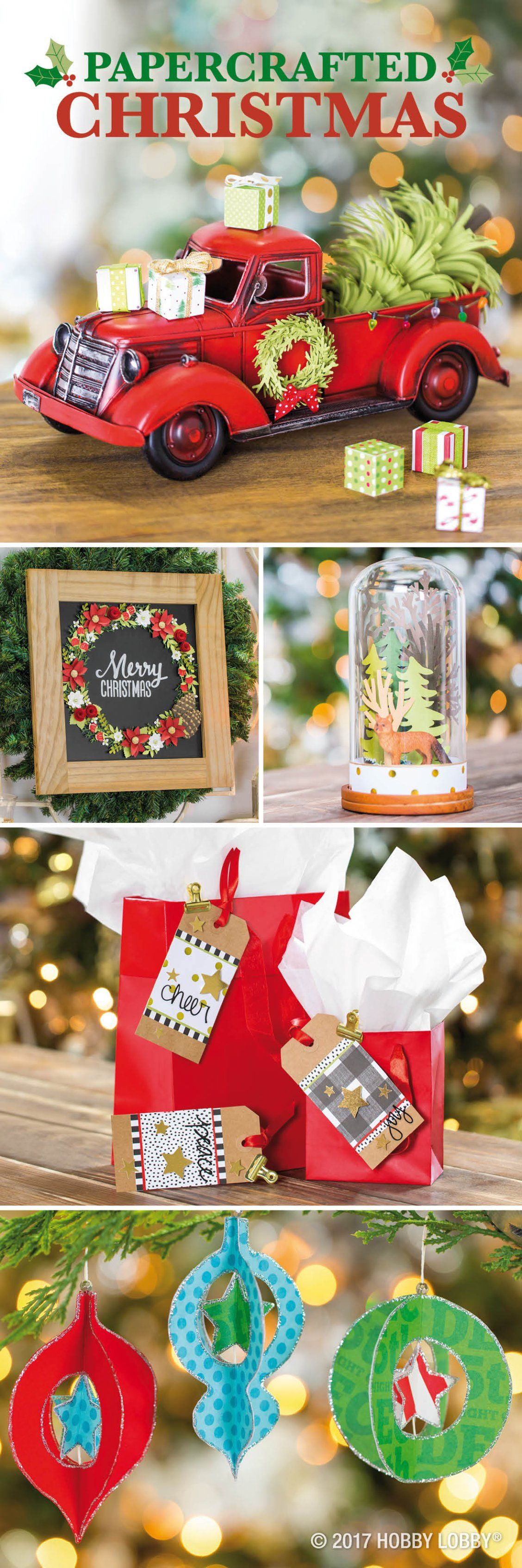 Craft up some Christmas cheer with holiday-themed paper ...