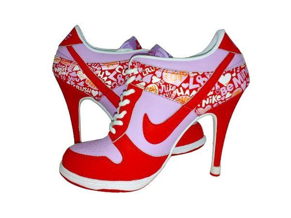 http://fashion9811.blogspot.com - my kinda Nikes