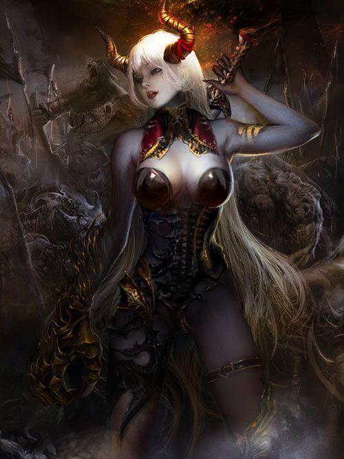 Королева демона секса world