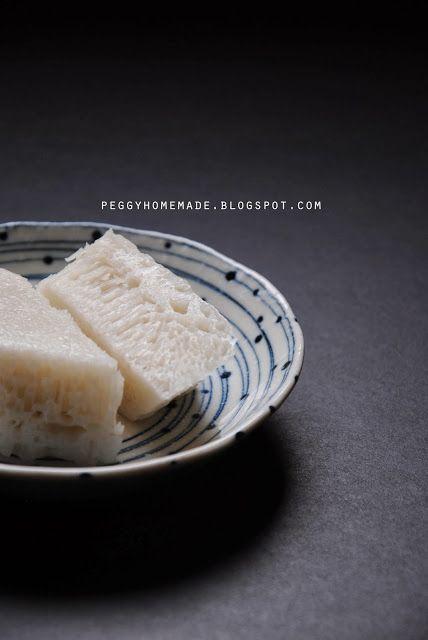 peggy's homemade: 簡易白糖糕   Food c. Asian desserts. Malaysian dessert