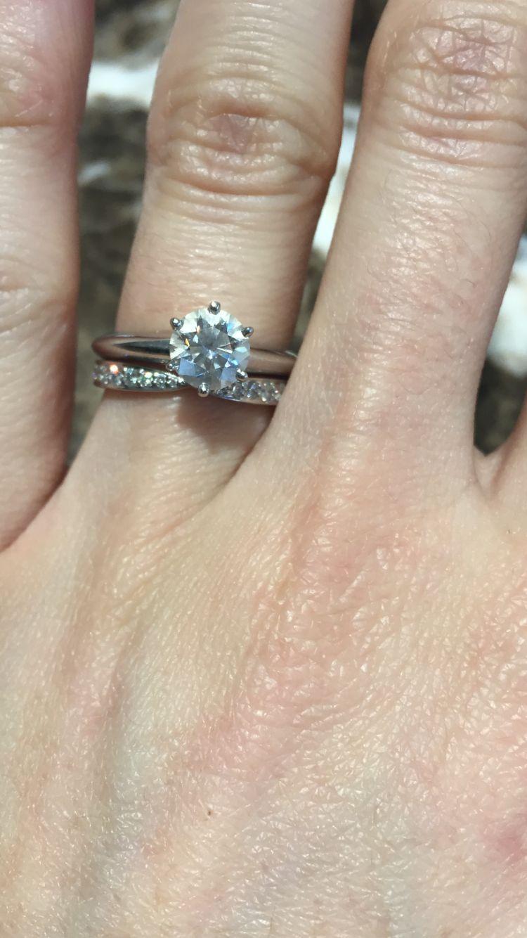 Tiffanys Knife Edge Engagement Ring With Tiffanys