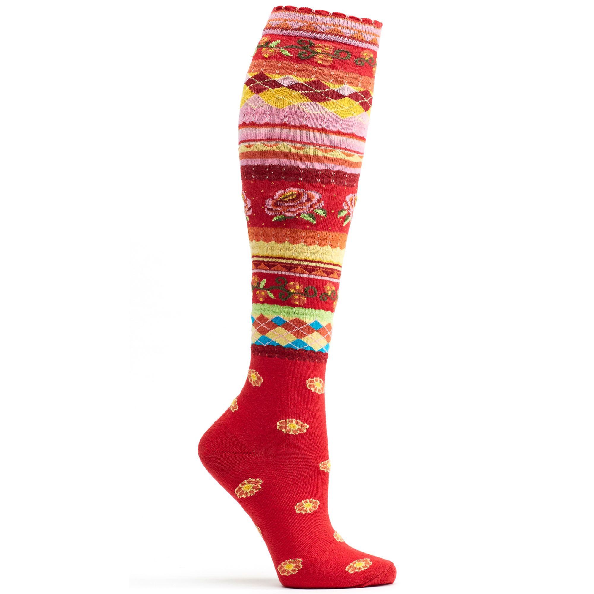 Garden Party Knee High Sock | Products | Pinterest