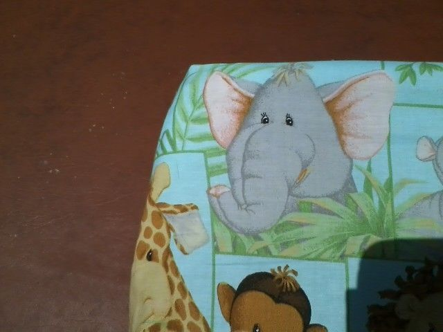 This Jungle Babies Fitted Crib Sheet Has A Snug Fit Due To