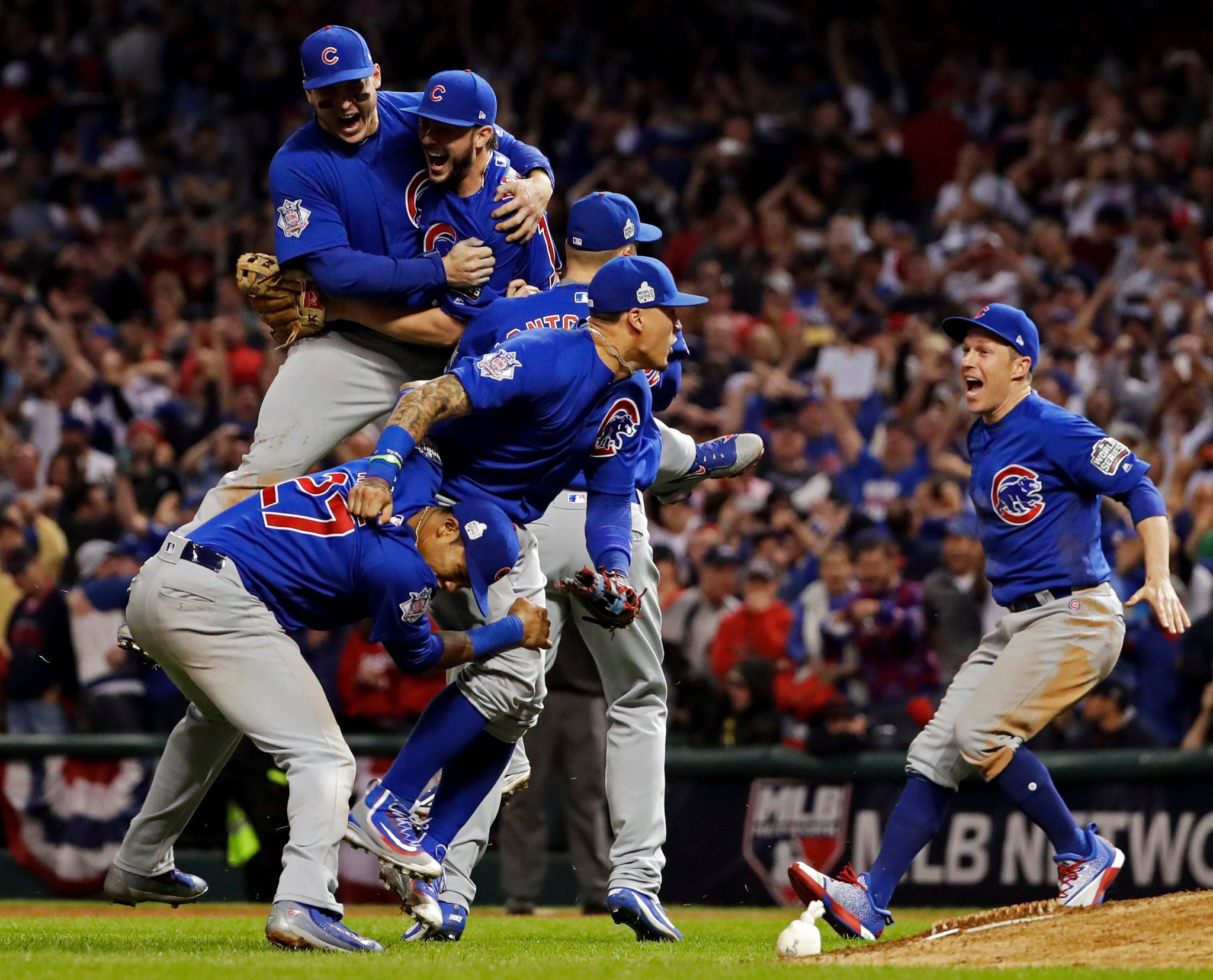 Cubs End 108 Year Wait For World Series Title After A Little More Torment Chicago Cubs Baseball Chicago Cubs World Series Chicago Sports Teams