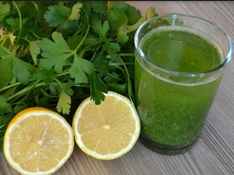 Настойка Петрушки И Лимона Для Похудения. Приготовление блюд и напитков из петрушки для похудения