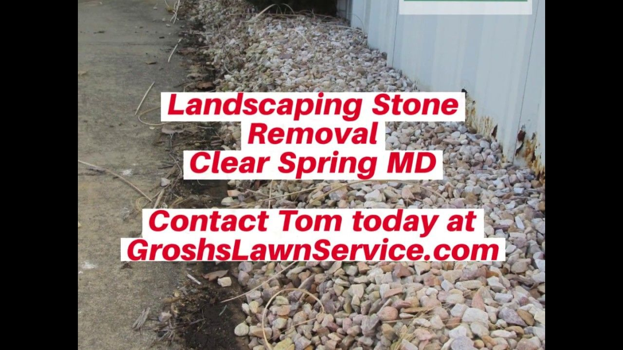 Pin On Landscaping Stone Removal Clear Spring Md