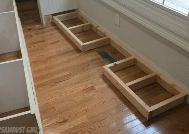 How To Install A Cabinet Base With A Floor Vent For The
