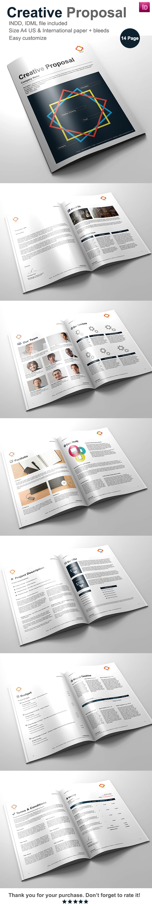 Gstudio Creative Proposal Template By Terusawa G Studio Via
