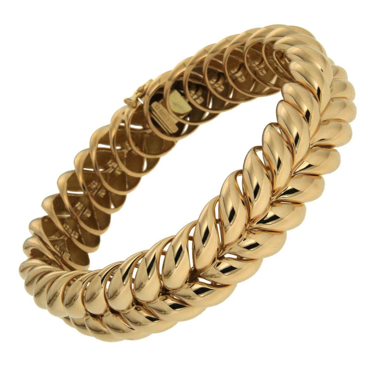 Bespoke valentin magro gold rope bracelet fashion pinterest