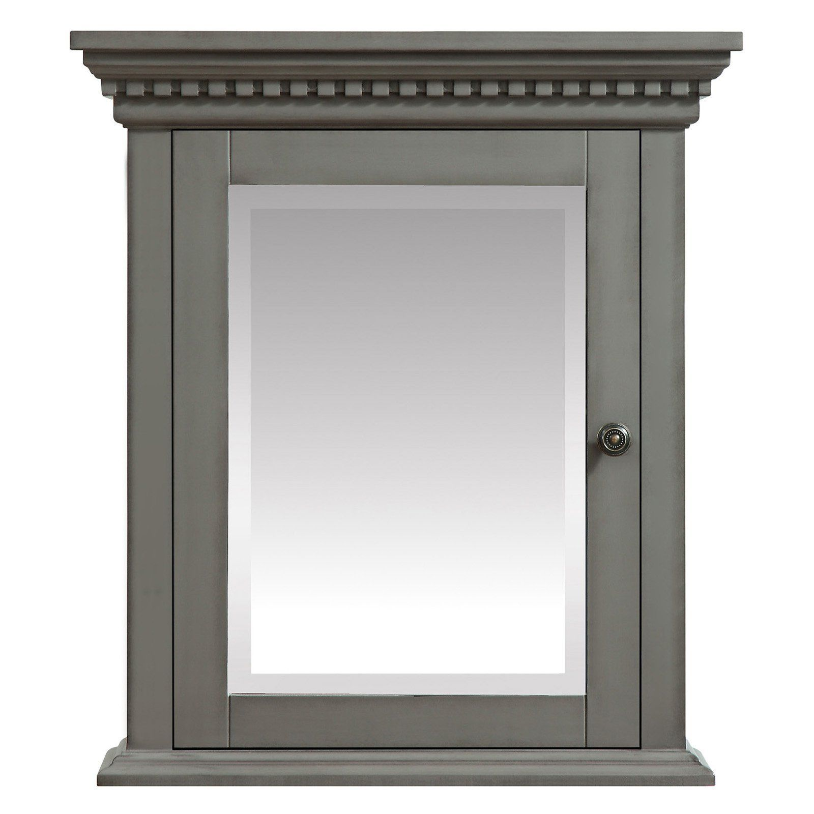 Azzuri Hastings 24 in. Mirror Cabinet - HASTINGS-MC24-FG