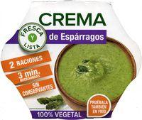 Crema de espárragos fresca - Producto | veganos en