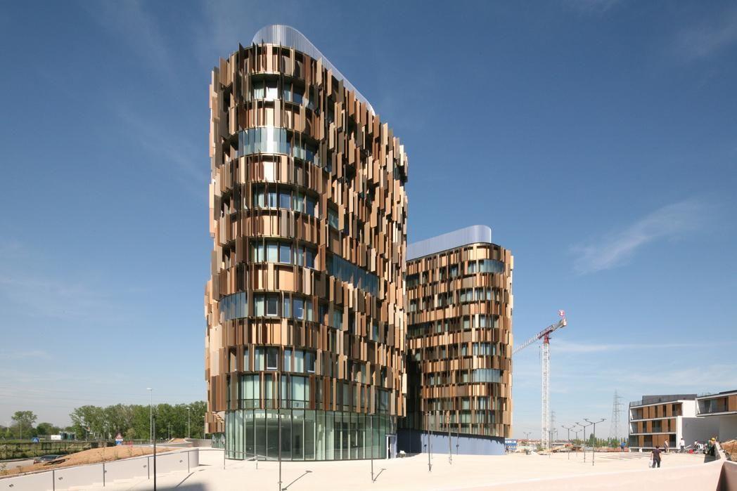 U15 Office building | Cino Zucchi Architetti | Archello | Building images, Office building ...