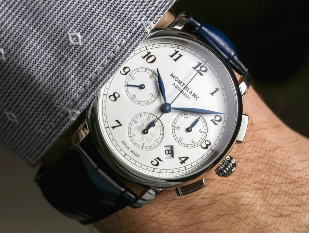 4049580559b Montblanc Star Legacy Automatic Chronograph Watch Hands-On #montblanc # watches #menswatches #mensfashion