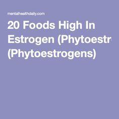20 Foods High In Estrogen (Phytoestrogens) | zullu | High estrogen