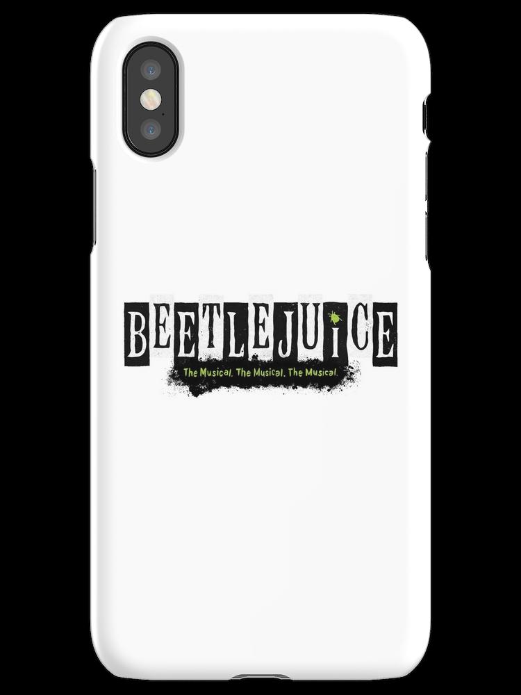 Beetlejuice Musical Broadway Logo Iphone X Snap By Amscraypunk In 2021 Beetlejuice Musicals Broadway Musicals