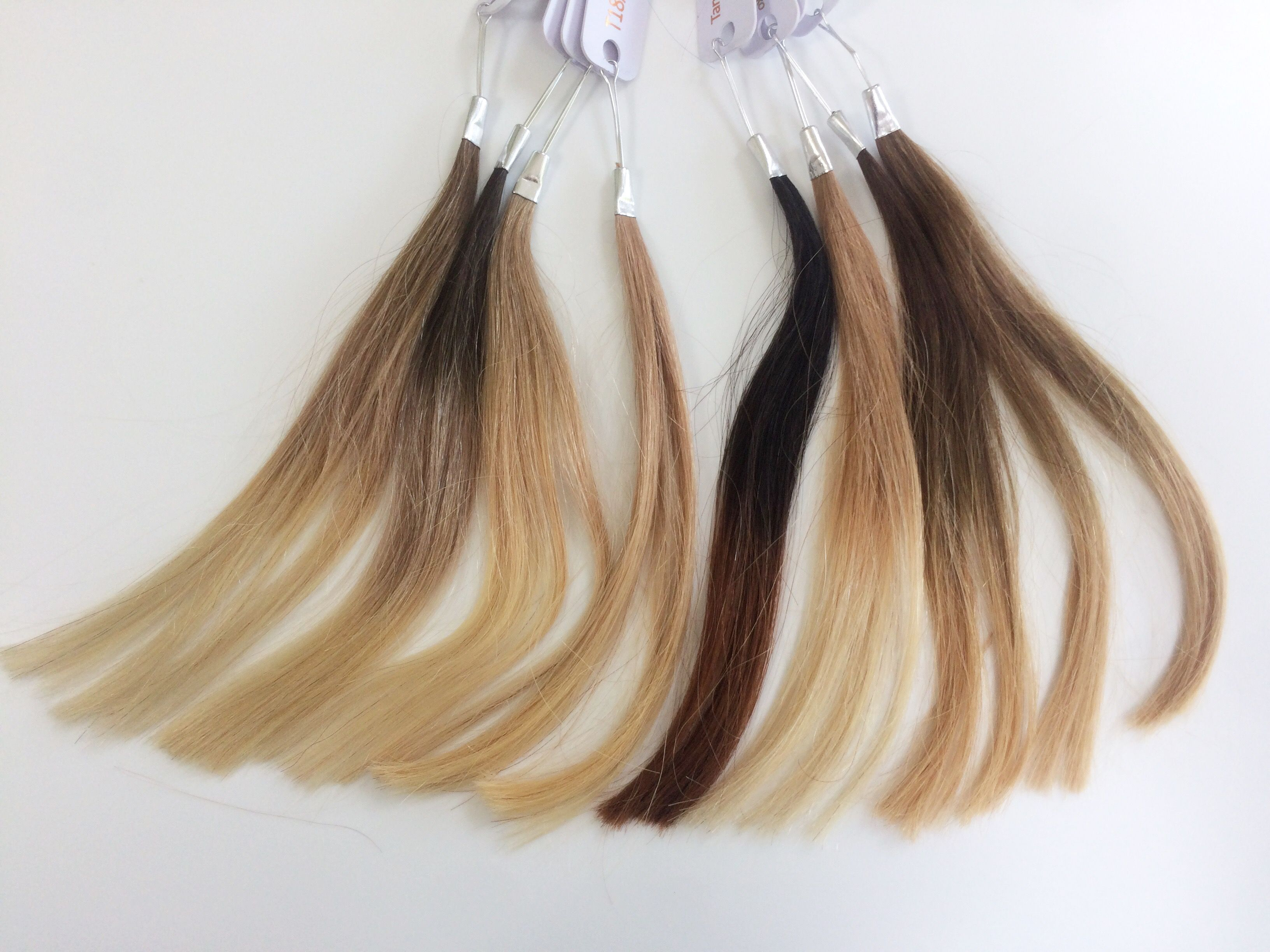New Ombre Extension Shades By Lucie Locks Extensions Pinterest