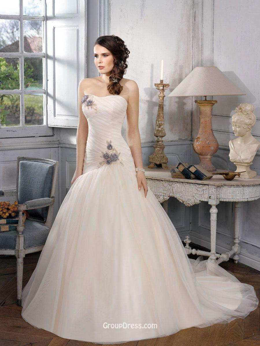 50+ Drop Waist Ball Gown Wedding Dress - Dresses for Wedding ...