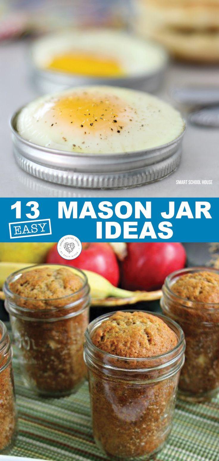 13 Easy Mason Jar Ideas