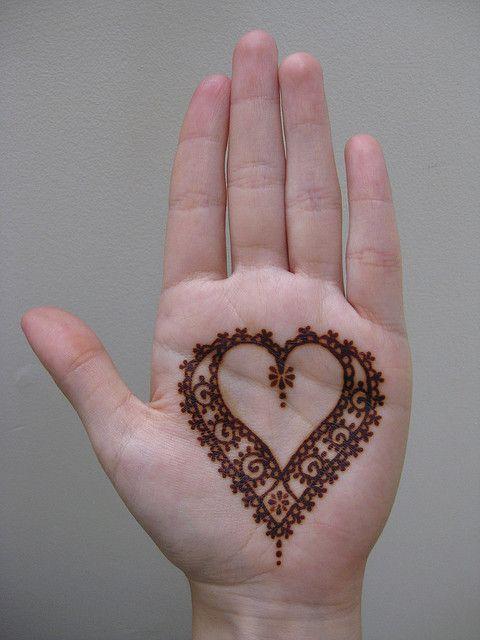 Henna Heart Mehndi Henna Henna Designs Mehndi