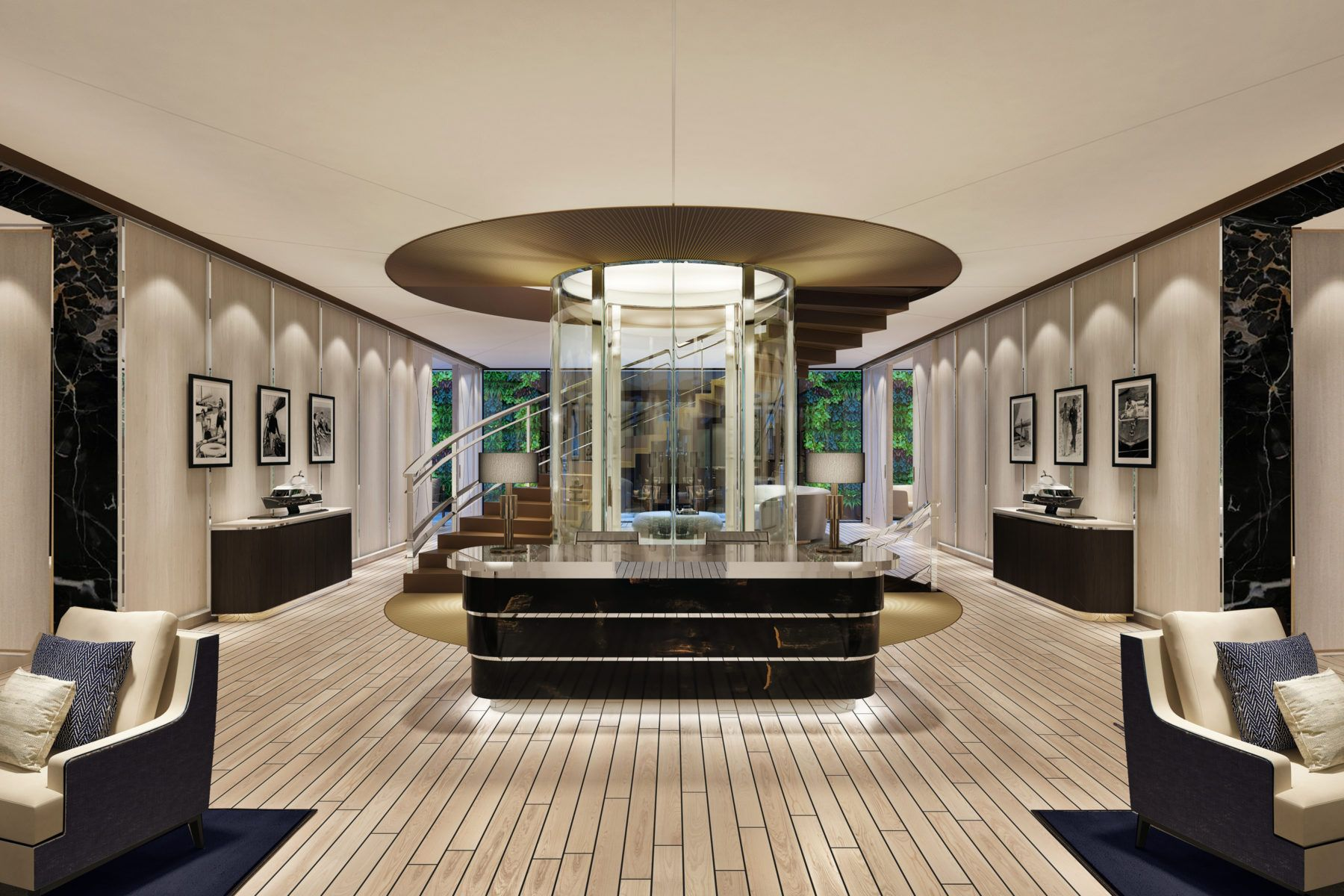 Yacht Club Concept March White London Interior Interior Design Business Interior Design Studio