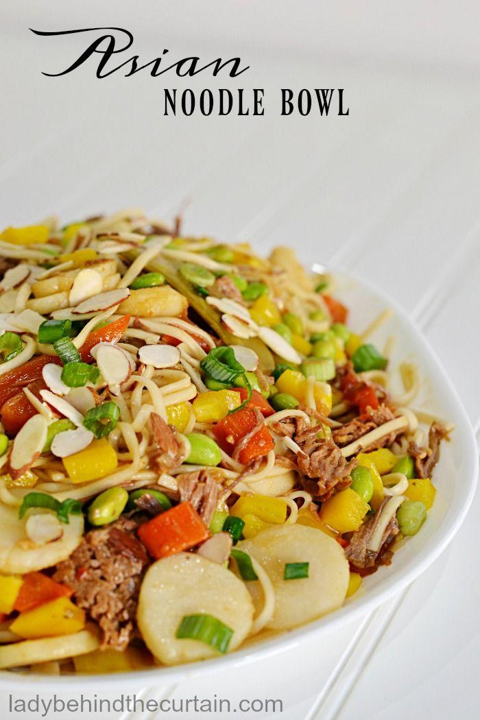 Asian noodle juice