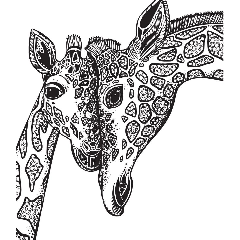 Pin By Bonnie Parker On Cricut In 2020 Giraffe Coloring Pages Animal Coloring Pages Adult Coloring Book Pages