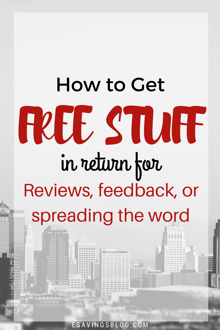 How can i get free stuff to review