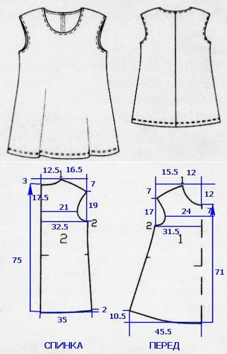 La túnica de la dimensión grande para las mujeres (la Costura y el ...